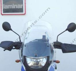 Laminar Lip tuuliohjain BMW F650GS Dakar, tumma 2000-2003