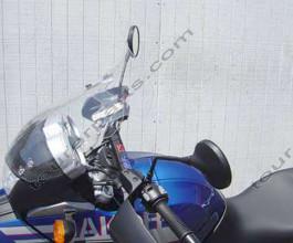 Laminar Lip tuuliohjain BMW F650GS Dakar 2005-2007