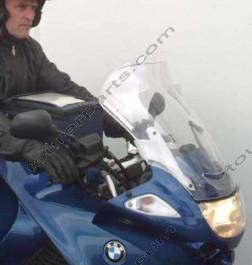 Laminar Lip tuuliohjain BMW K1200RS/K1200GT touring tumma, 2002-2005