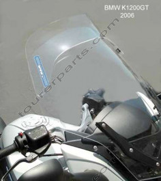Laminar Lip tuuliohjain BMW K1200GT / K1300GT 2006-