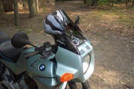 Laminar Lip tuuliohjain BMW K75C, tumma, Kaikki vm