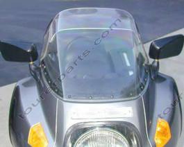 Laminar Lip tuuliohjain BMW R100RS, tumma, 1977-1993