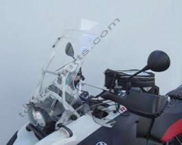 Laminar Lip tuuliohjain BMW R1200GS Adventure, 2006-2013