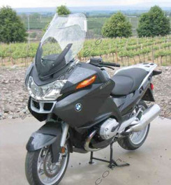 Laminar Lip tuuliohjain BMW R1200RT, 2005-2009