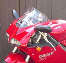 Laminar Lip tuuliohjain Ducati 748/916/996/998, Kaikki vm