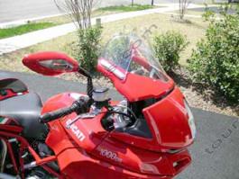 Laminar Lip tuuliohjain Ducati Multistrada 2005-2009