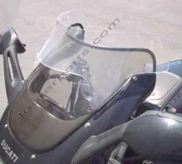 Laminar Lip tuuliohjain Ducati ST2,ST4, 1998-2003