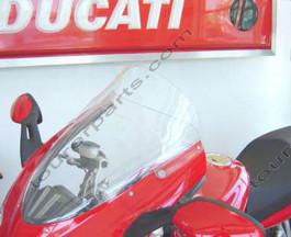 Laminar Lip tuuliohjain Ducati ST3,ST4, 2004-