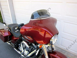 Laminar Lip tuuliohjain Harley D. Street Glide tumma, 2008-