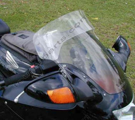 Laminar Lip tuuliohjain Honda CBR1100XX Blackbird, 1997-2001