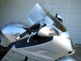 Laminar Lip tuuliohjain Honda CBR1100XX Blackbird, 2002-