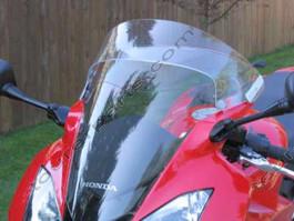 Laminar Lip tuuliohjain Honda VFR800, tumma, 2002-2009