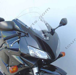 Laminar Lip tuuliohjain Honda CBR600RR 2003-2006