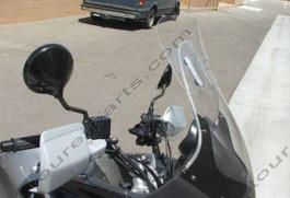 Laminar Lip tuuliohjain Honda Varadero XL1000V, 2002-