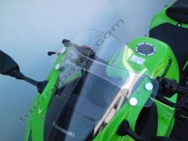 Laminar Lip tuuliohjain Kawasaki Ninja 250R, tumma, 2008-