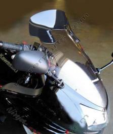 Laminar Lip tuuliohjain Kawasaki ER6F / Ninja 650R, 2006-2008