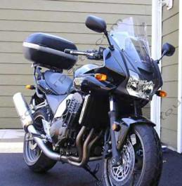 Laminar Lip tuuliohjain Kawasaki Z750, 2005-2006