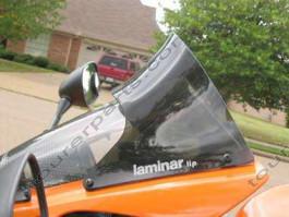 Laminar Lip tuuliohjain Kawasaki ZX10R, 2004-2005