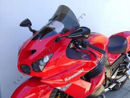 Laminar Lip tuuliohjain Kawasaki ZX14, ZZR1400, tumma,  2006-