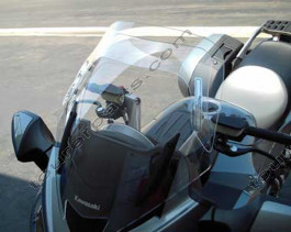 Laminar Lip tuuliohjain Kawasaki GTR1400, 2007-2009