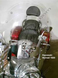 Laminar Lip tuuliohjain Kawasaki VN1600, Kaikki vuosimalit