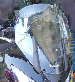 Laminar Lip tuuliohjain Suzuki DL650/DL1000