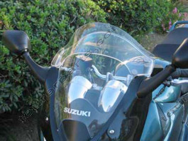 Laminar Lip tuuliohjain Suzuki Bandit 1200S, 2001-2006