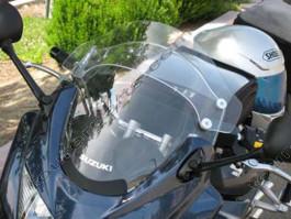 Laminar Lip tuuliohjain Suzuki Bandit 1250S, 2007-2009