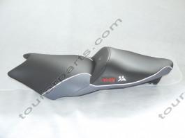 Baehr ZENTAURO istuin, musta/harmaa, BMW K1200S 2004- K1300S 2008-