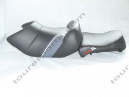 Baehr ZENTAURO istuin, musta/harmaa, BMW R1200GS Adventure 2005-