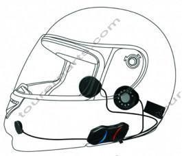 SENA SMH10R Bluetooth kypäräpuhelinsarja yhdelle kypärälle