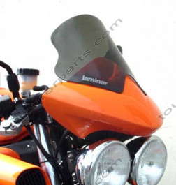 Laminar Lip Speed Shield Triumph Speed Tripl, tumma, 2002-2004