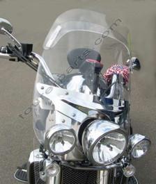Laminar Lip tuuliohjain Triumph Rocket III touring, 2008-