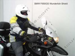 Laminar Lip tuuliohjain BMW F650GS, Kirkas, Wunderlich lasille