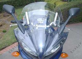 Laminar Lip tuuliohjain Yamaha FZ6, 2004-2006