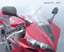 Laminar Lip tuuliohjain Yamaha R1, 2004-2006