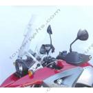 Laminar Lip tuuliohjain BMW R1200GS, 2005-2012