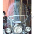 Laminar Lip tuuliohjain Harley-Davidson Road King, 2000-