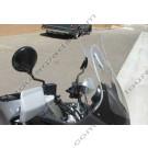 Laminar Lip tuuliohjain Honda Varadero XL1000V, tumma, 2002-