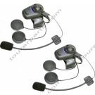 SENA SMH5DFM Dual Bluetooth kypäräpuhelinsarja kahdelle kypärälle
